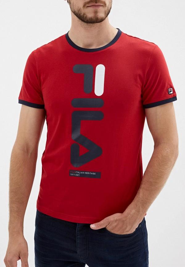 Футболка Fila Fila FI030EMGEZS2 футболка для девочки fila цвет сапфировый a19afltsg04 z3 размер 140