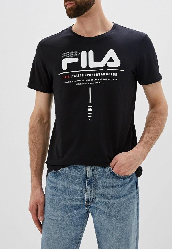 Футболка Fila Fila FI030EMGEZS6 футболка для мальчика fila цвет черный a19afltsb03 99 размер 164
