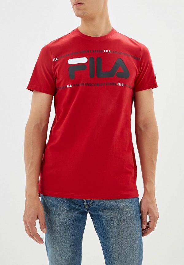 Футболка Fila Fila FI030EMGEZS9 футболка для девочки fila цвет сапфировый a19afltsg04 z3 размер 140