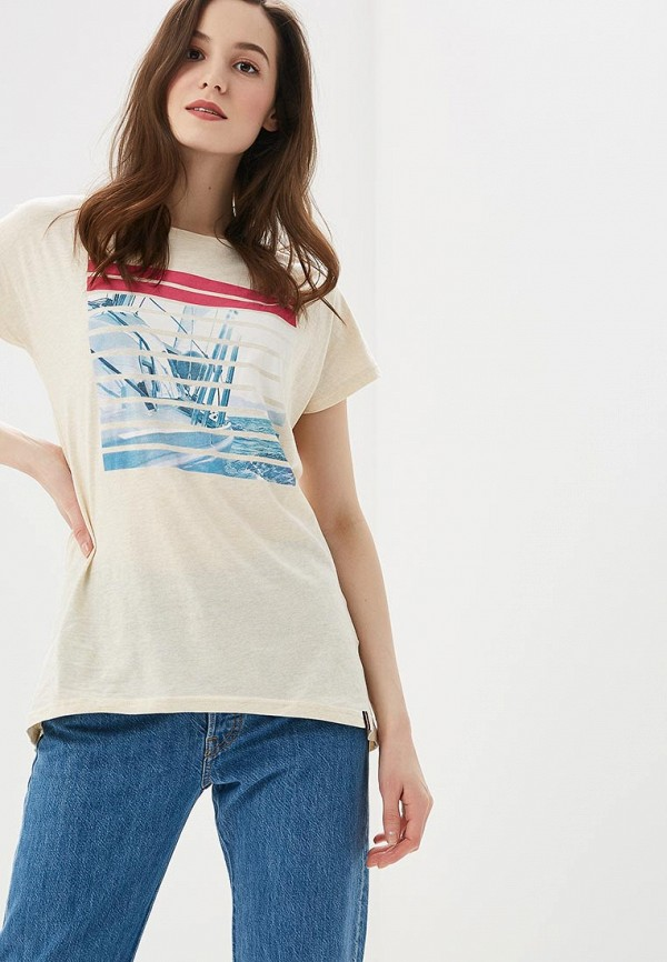 Футболка Fila Fila FI030EWEJHE3 футболка для девочки fila цвет белый a19afltsg02 00 размер 164