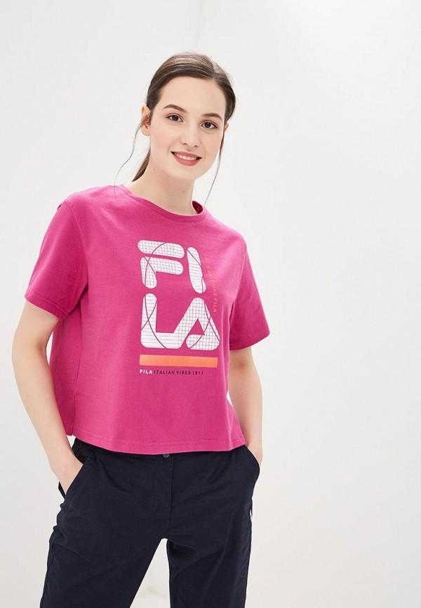 Футболка Fila Fila FI030EWEJHE6 футболка для девочки fila цвет белый a19afltsg02 00 размер 164