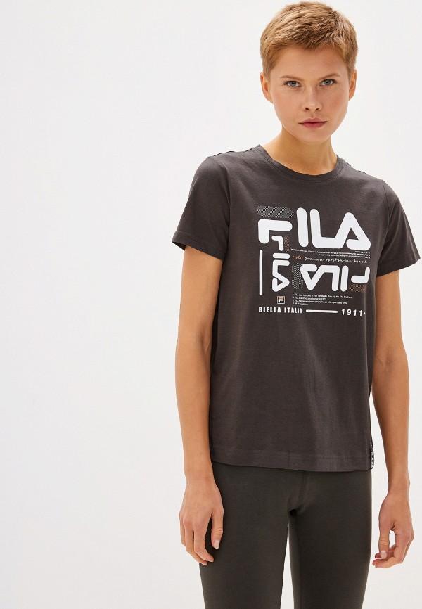 Футболка Fila Fila FI030EWGEZX6 футболка для девочки fila цвет сапфировый a19afltsg04 z3 размер 140