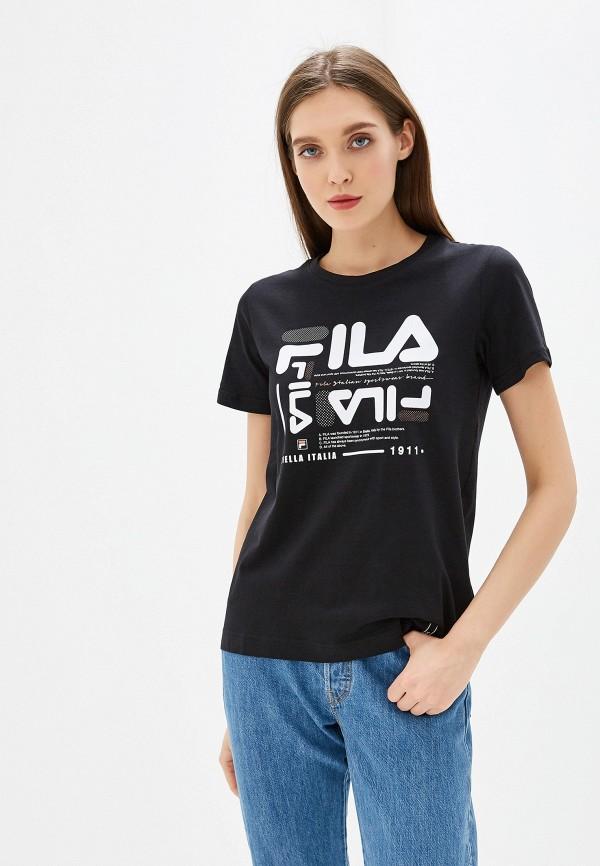 Футболка Fila Fila FI030EWGEZX7 футболка для девочки fila цвет сапфировый a19afltsg04 z3 размер 140