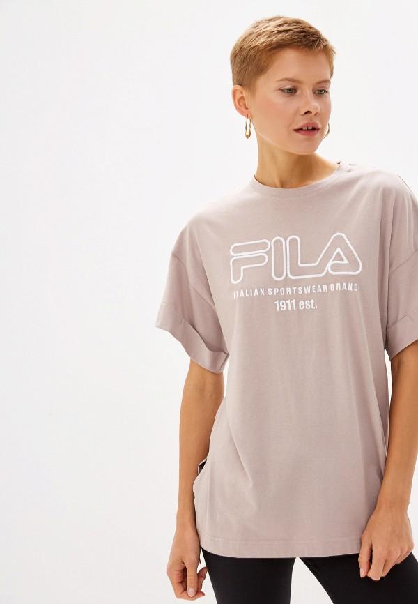 Футболка Fila Fila FI030EWGEZY0 футболка для девочки fila цвет сапфировый a19afltsg04 z3 размер 140