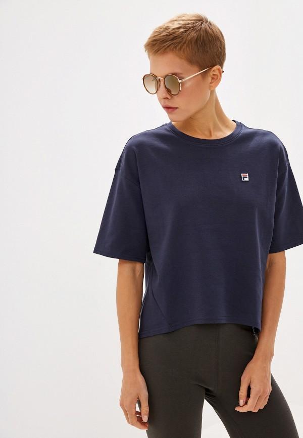 Футболка Fila Fila FI030EWGEZY2 футболка для девочки fila цвет сапфировый a19afltsg04 z3 размер 140