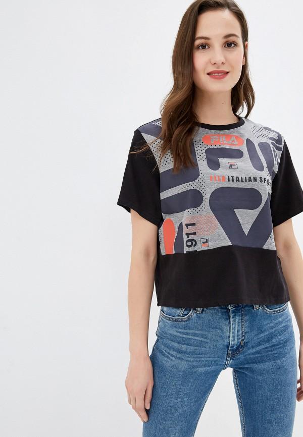 Футболка спортивная Fila Fila FI030EWGEZY4 футболка для мальчика fila цвет черный a19afltsb03 99 размер 164