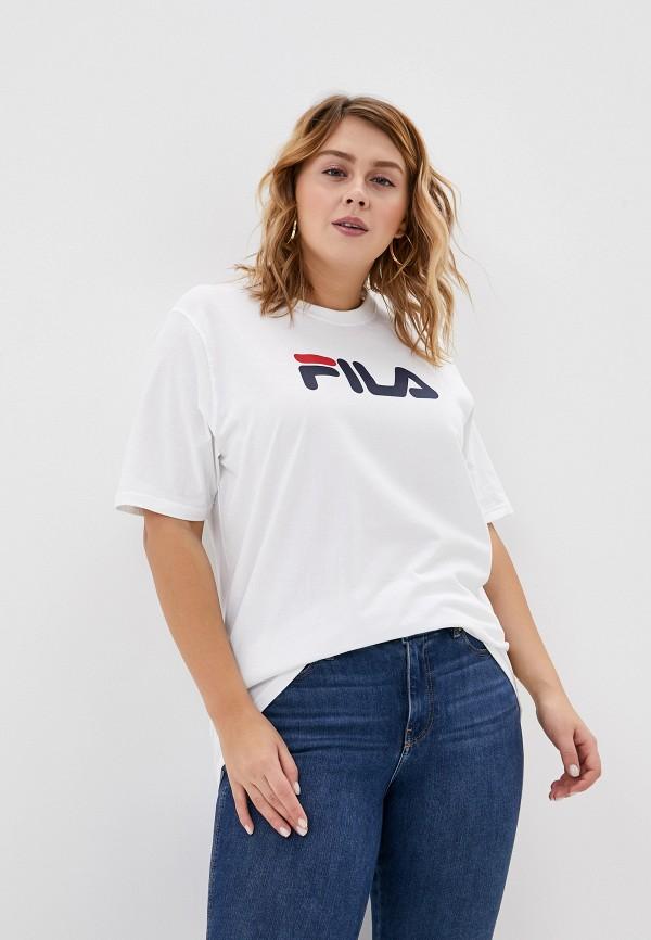 Футболка Fila Fila FI030EWGGBQ0 футболка для девочки fila цвет сапфировый a19afltsg04 z3 размер 140
