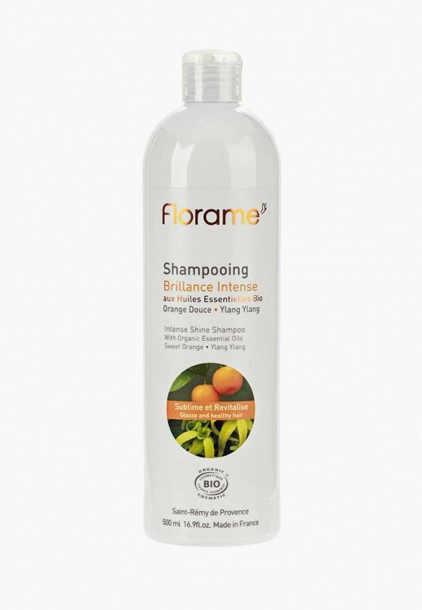 Шампунь Florame для интенсивного блеска волос