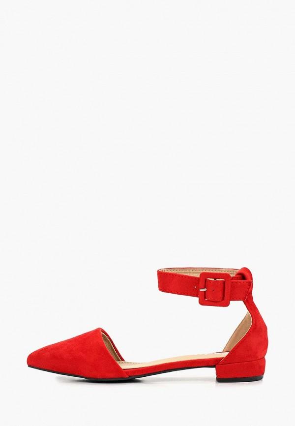 женские туфли flyfor, красные