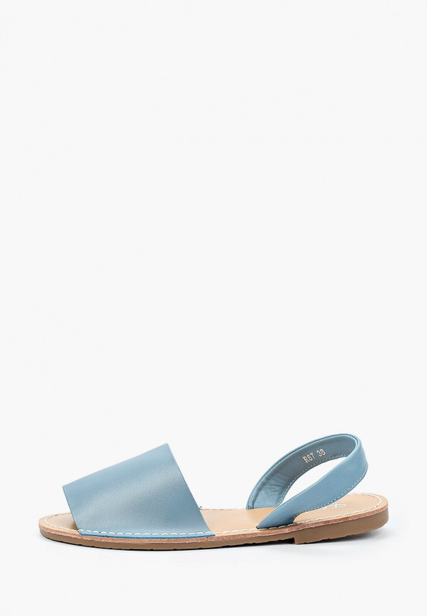 женские сандалии flyfor, синие