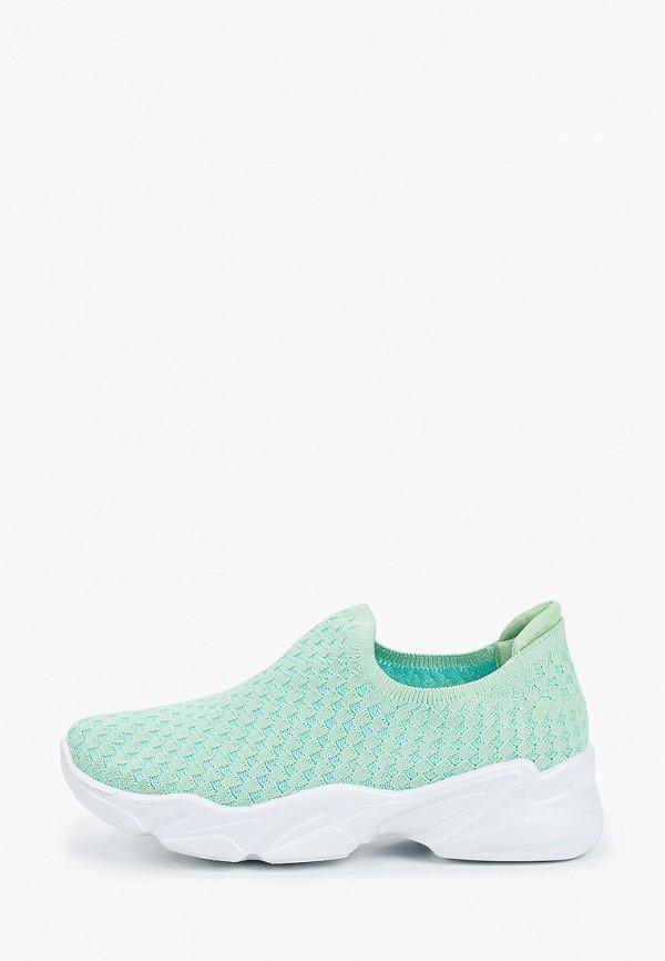 женские кроссовки flyfor, зеленые