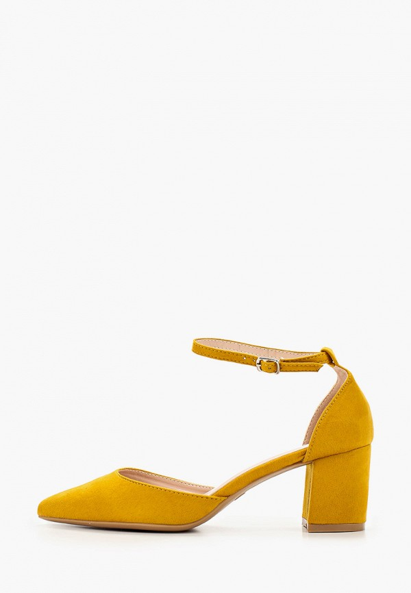 женские туфли flyfor, желтые