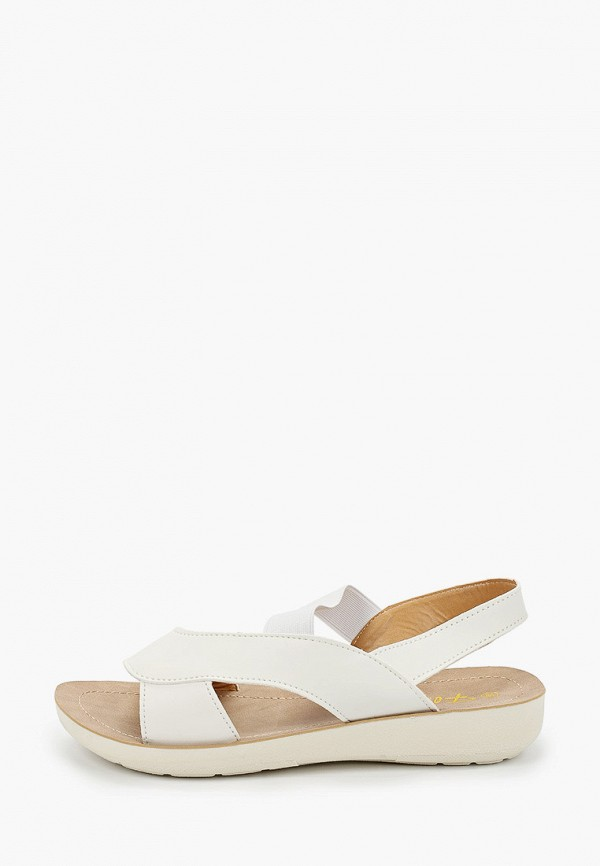 женские сандалии flyfor, белые