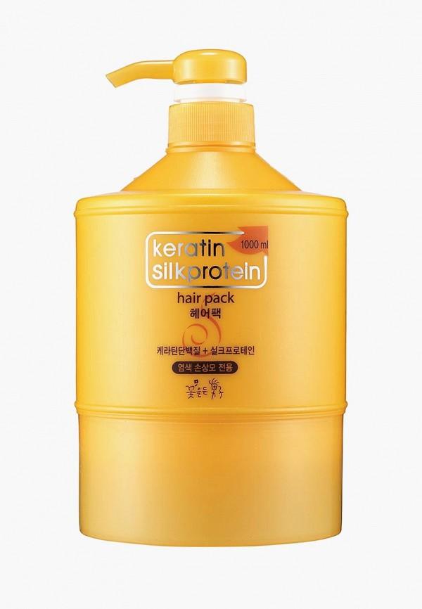 Купить Маска для волос Flor de Man, Питательная с протеинами шелка Keratin 1000 мл, FL019LWUEM47, Осень-зима 2018/2019