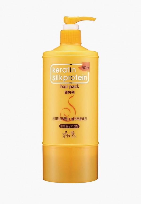 Купить Маска для волос Flor de Man, Питательная с протеинами шелка Keratin 500 мл, FL019LWUEM48, Осень-зима 2018/2019