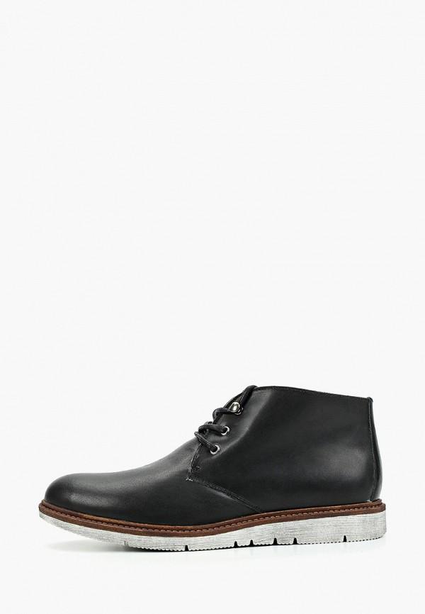 мужские ботинки floktar, черные