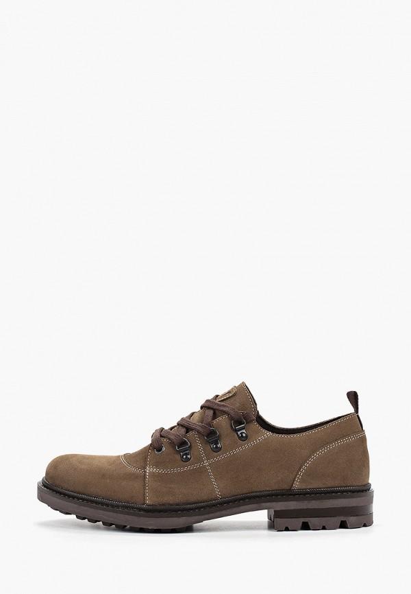 мужские туфли floktar, хаки