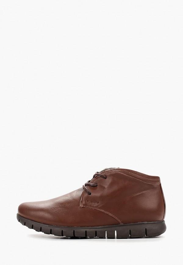 мужские ботинки floktar, коричневые