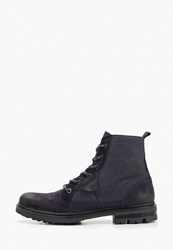 мужские высокие ботинки floktar, синие