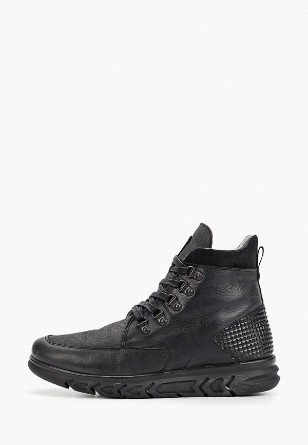 мужские высокие ботинки floktar, черные