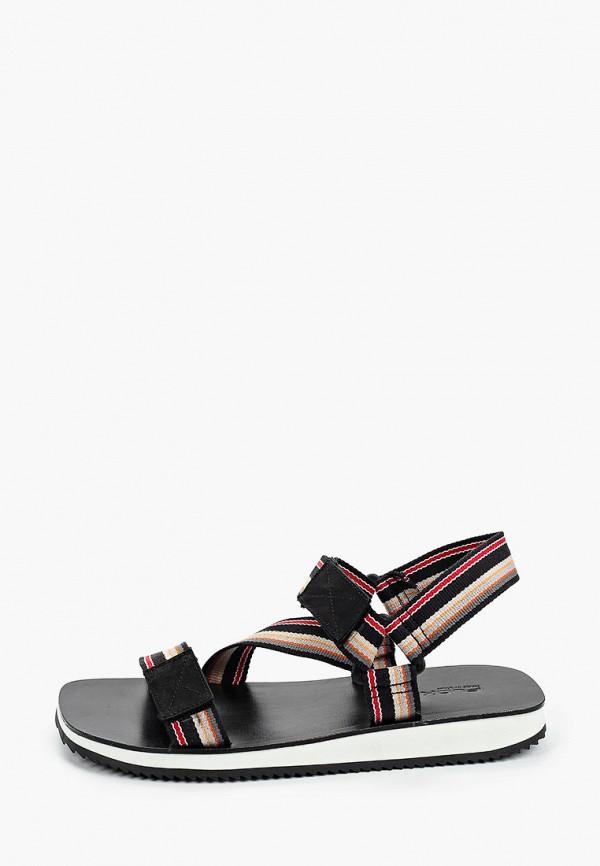 мужские сандалии floktar, черные