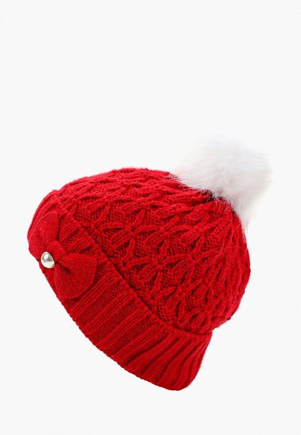 шапка flioraj для девочки, красная