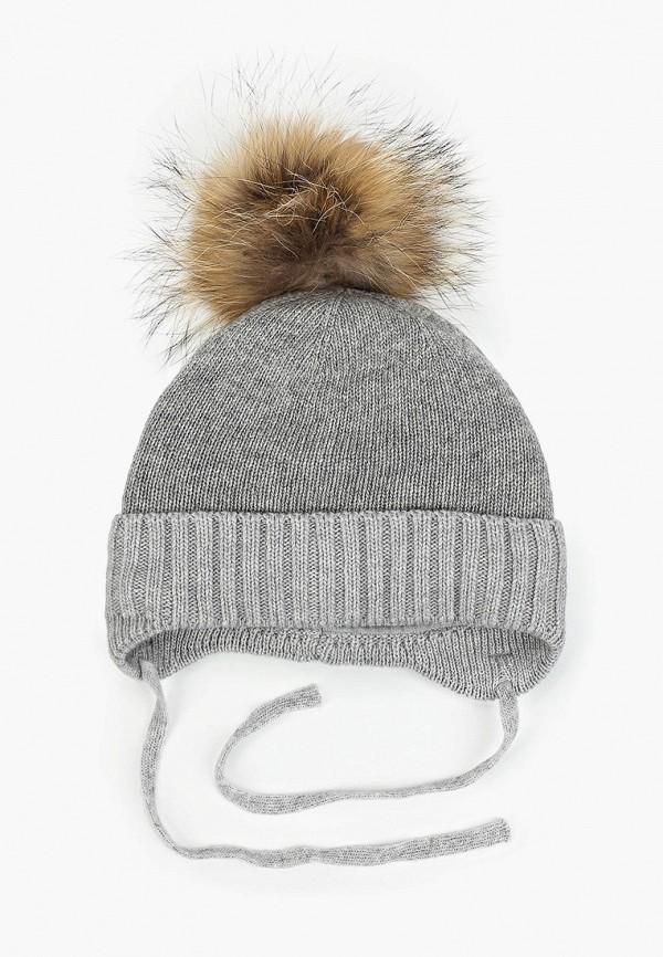 шапка flioraj для девочки, серая
