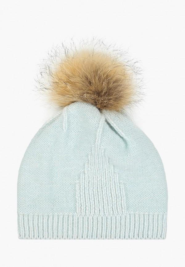 шапка flioraj для девочки, голубая