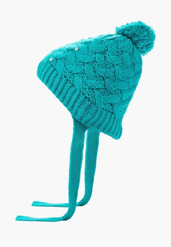 шапка flioraj для девочки, бирюзовая
