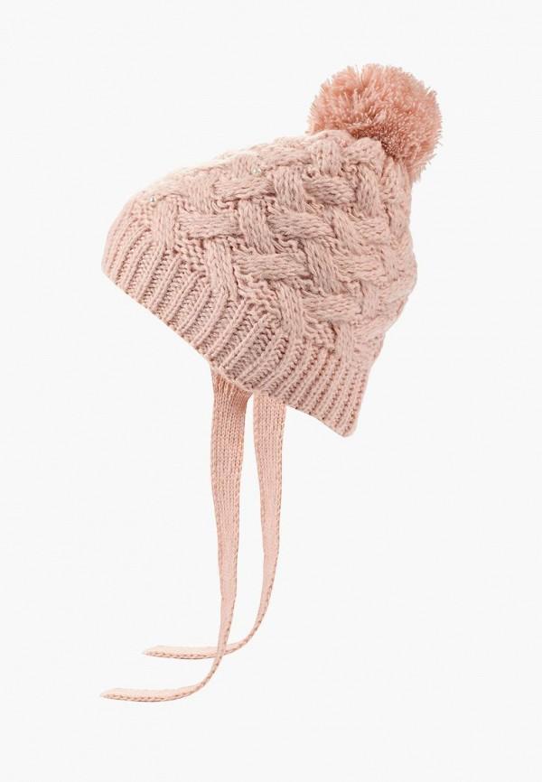 шапка flioraj для девочки, розовая