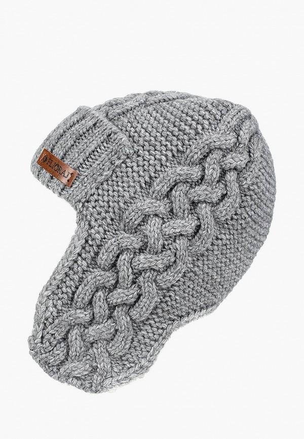 женская шапка flioraj, серая