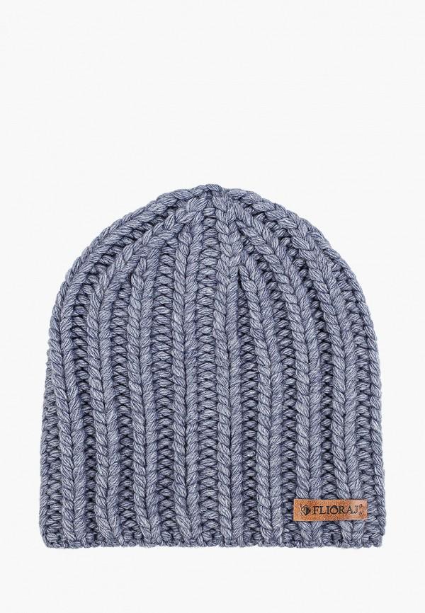 женская шапка flioraj, синяя
