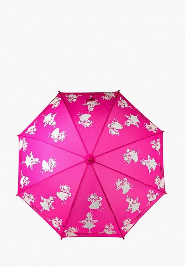 зонт flioraj для девочки, розовый