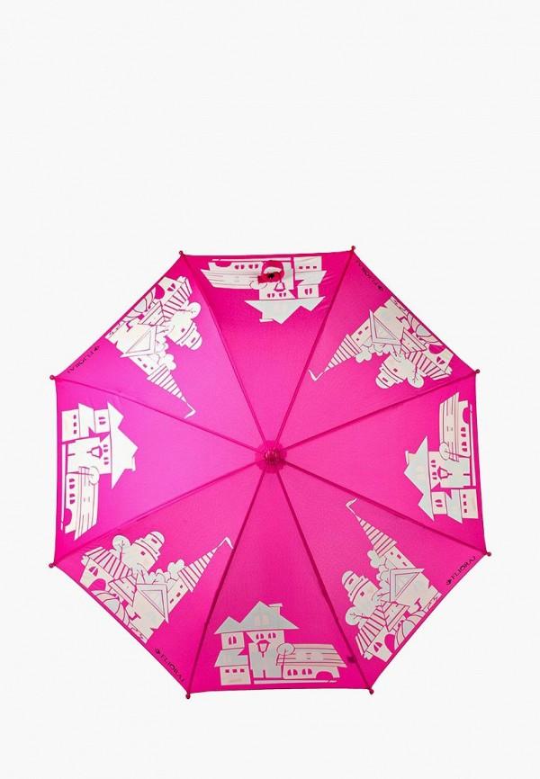 Купить Зонт складной Flioraj, FL976DGILE33, розовый, Осень-зима 2018/2019