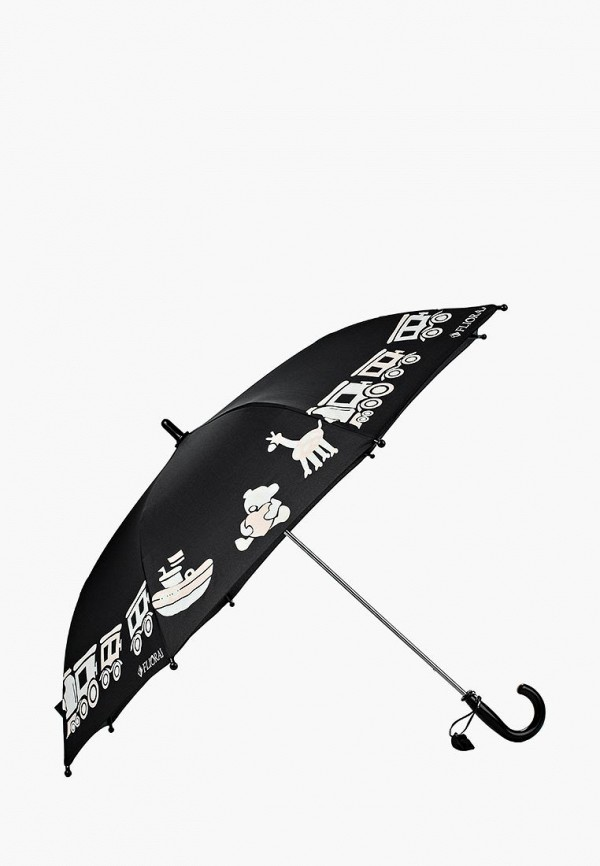 Купить Зонт складной Flioraj, FL976DKILE37, черный, Осень-зима 2018/2019