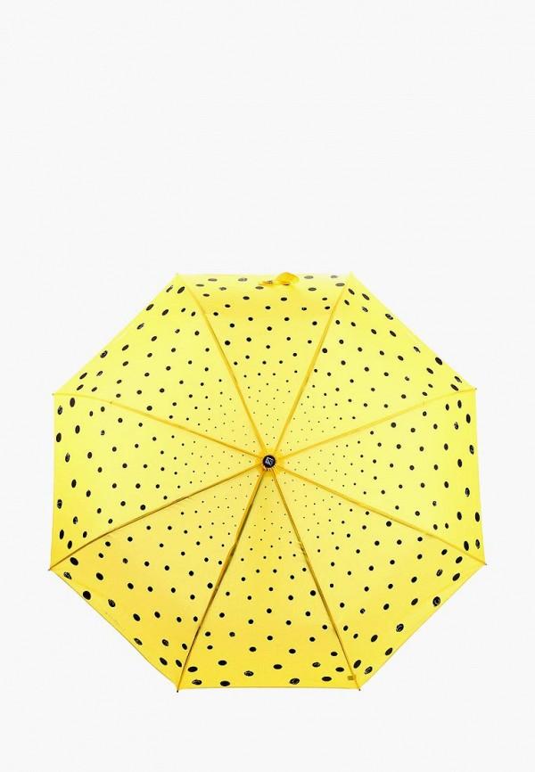 Купить Зонт складной Flioraj, FL976DWASZE7, желтый, Осень-зима 2018/2019