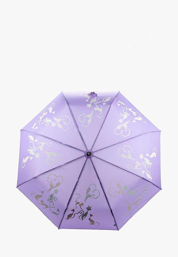 Купить Зонт складной Flioraj, FL976DWASZF9, фиолетовый, Осень-зима 2018/2019