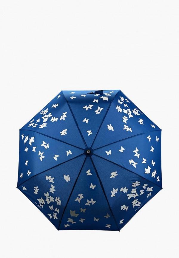 Купить Зонт складной Flioraj, FL976DWASZG4, синий, Осень-зима 2018/2019