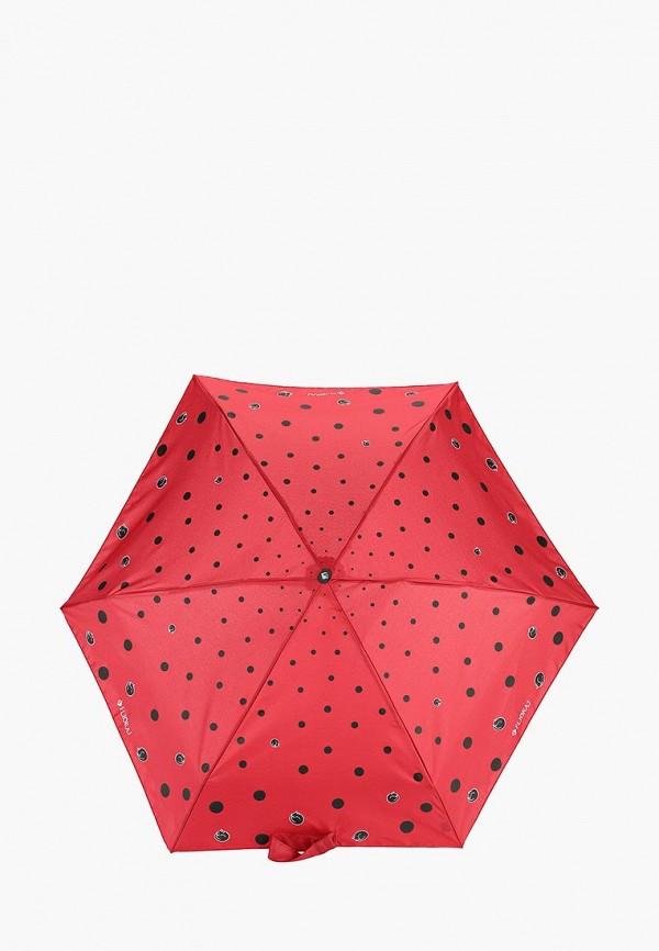 женский зонт flioraj, бордовый
