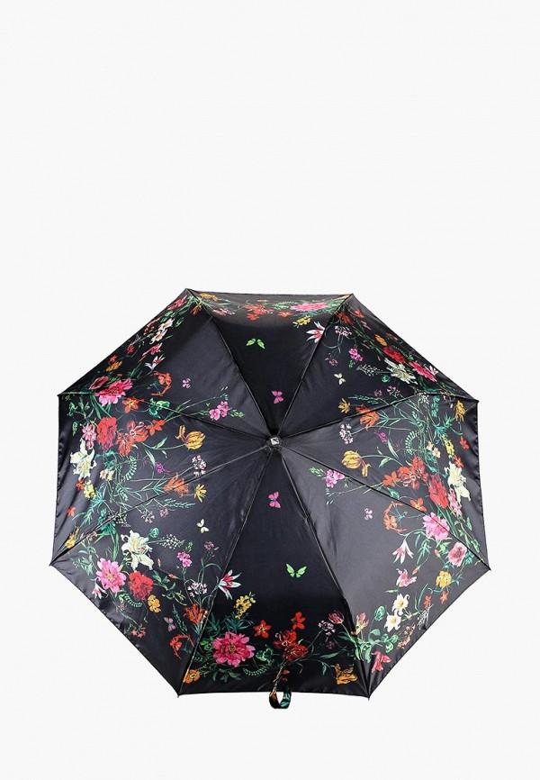 Купить Зонт складной Flioraj, FL976DWCWEL2, черный, Осень-зима 2018/2019