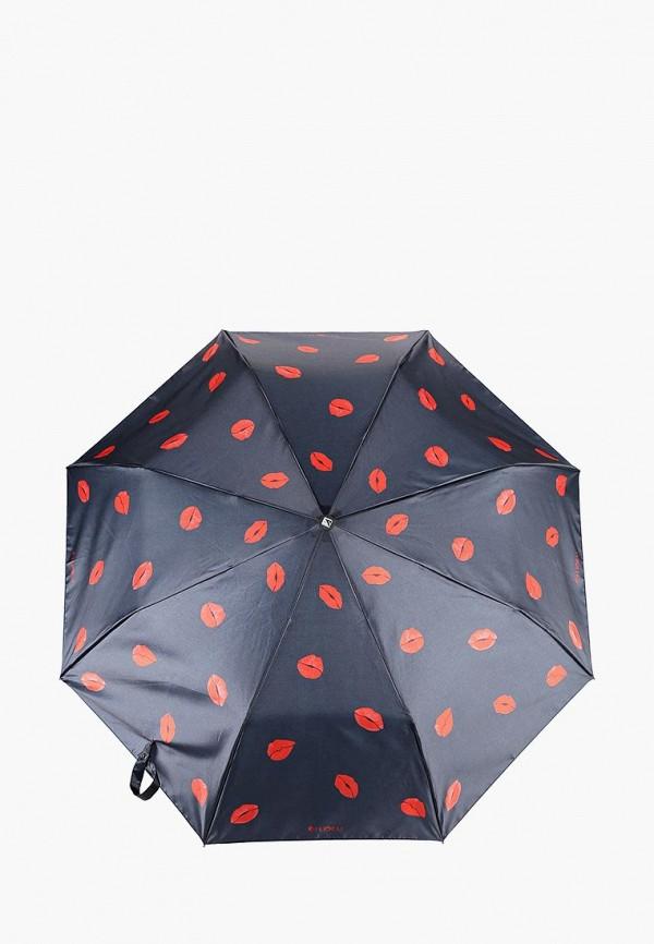 Купить Зонт складной Flioraj, FL976DWCWEL4, черный, Осень-зима 2018/2019