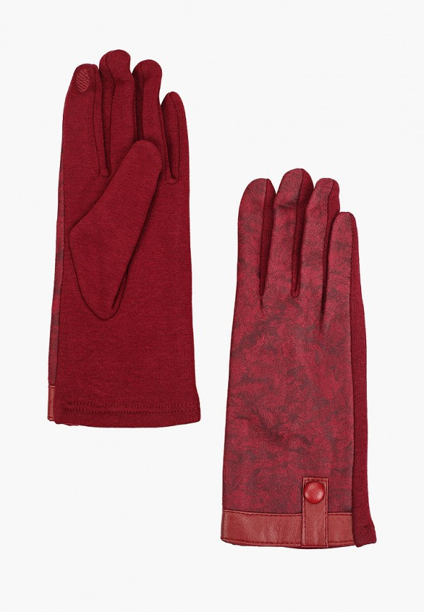 женские перчатки flioraj, бордовые