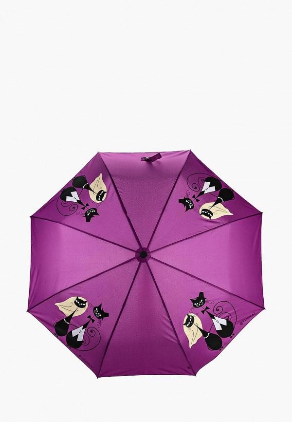 женский зонт flioraj, фиолетовый