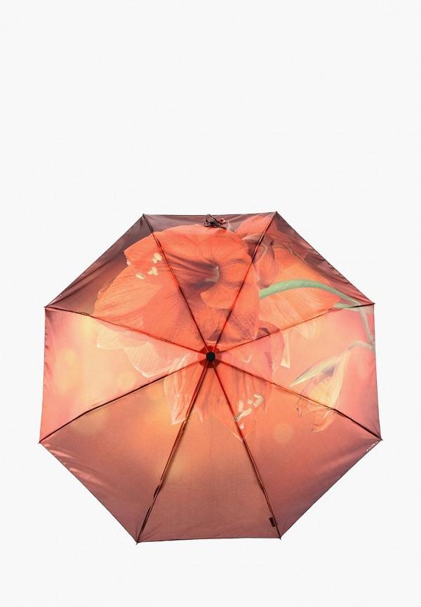 Купить Зонт складной Flioraj, FL976DWVQU28, оранжевый, Осень-зима 2018/2019