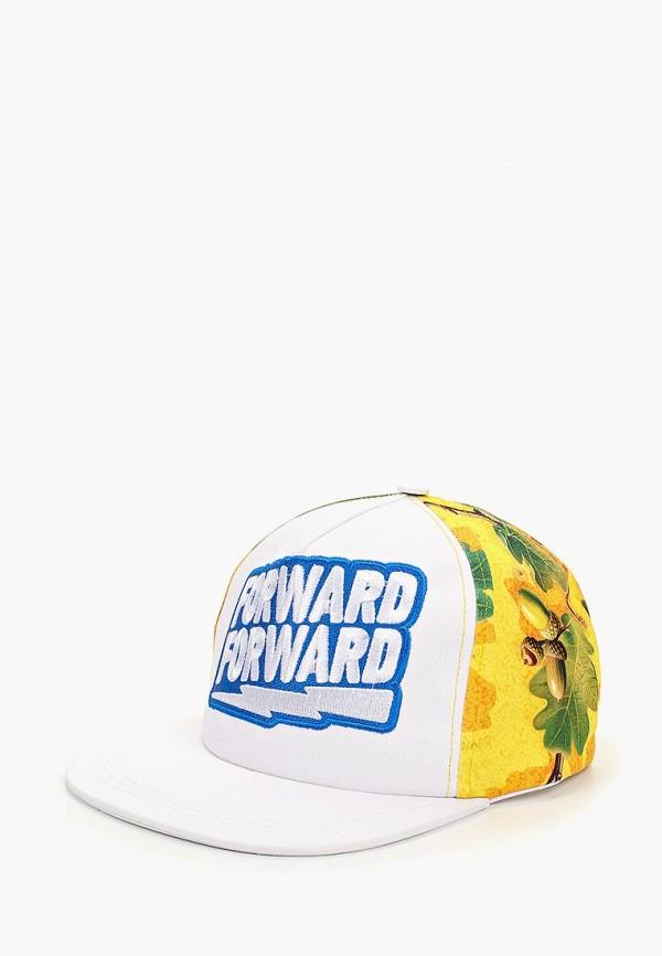 женская бейсболка forward, желтая