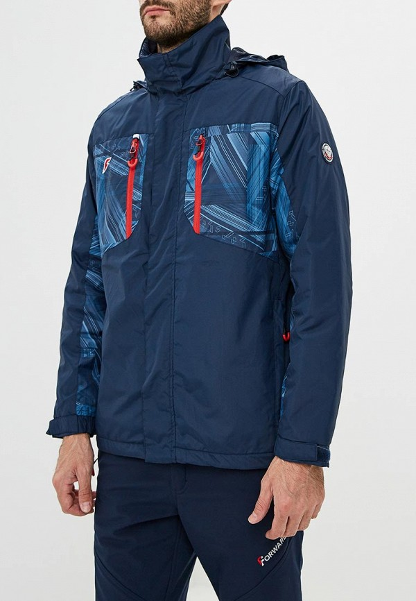 Купить Куртка Forward, FO007EMCUKW3, синий, Осень-зима 2018/2019