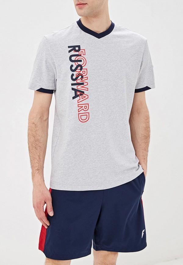 мужская спортивные футболка forward, серая
