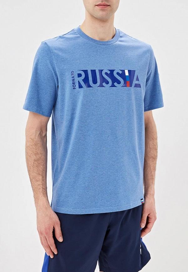 мужская спортивные футболка forward, голубая