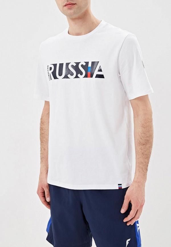 мужская спортивные футболка forward, белая