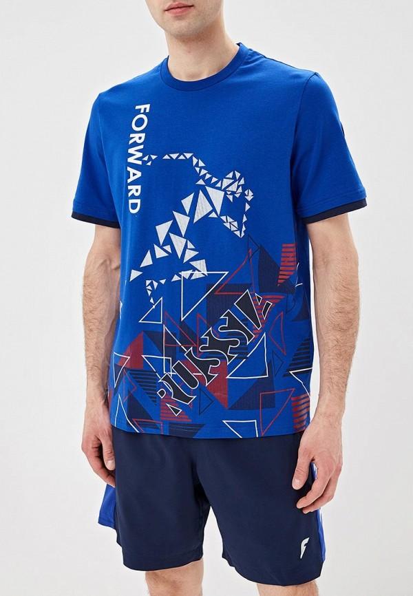 мужская спортивные футболка forward, синяя